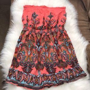 Paisley Mini Dress or Tube Top